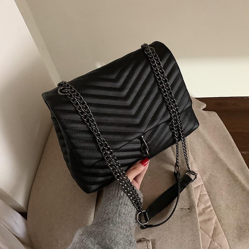 Модная дизайнерская женская сумка через плечо из искусственной кожи высокого качества женские сумки через плечо для женщин повседневные маленькие сумки через плечо|Сумки с ручками|   | АлиЭкспресс - Трендовые вещи из сериала «Эмили в Париже»