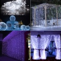300 LED fée chaîne rideau lumière fête d'anniversaire mariage fée chaîne guirlande lumineuse noël mariage décoration LED d'éclairage