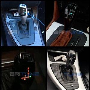 Image 5 - Gałka zmiany biegów dla BMW 1 3 5 6 seria E46 E83 X3 E90 E60 E39 E53 E87 E92 E93 modernizacja LED zmiany biegów dźwigni akcesoria samochodowe
