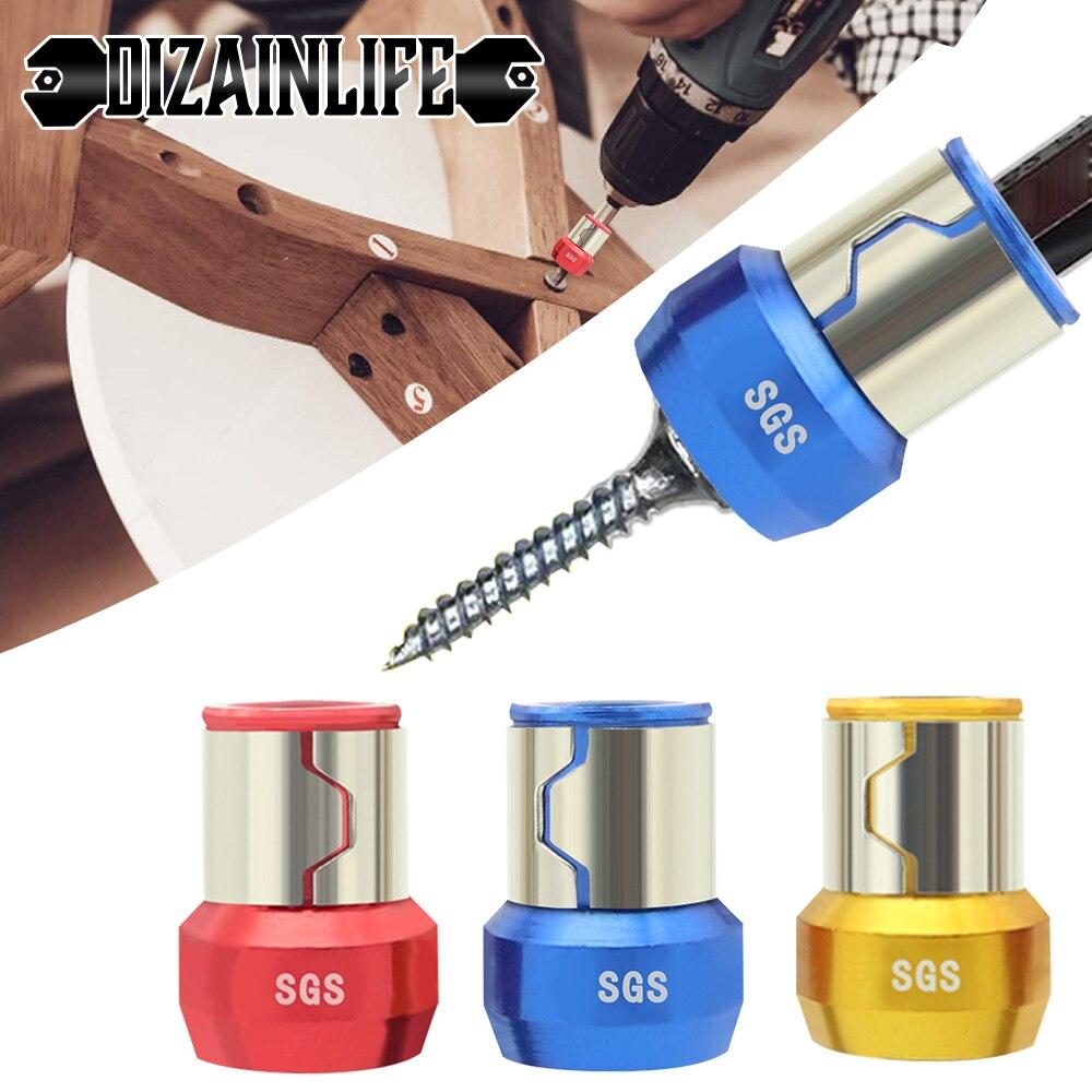 Магнитный держатель для бит, сплав, электрическое магнитное кольцо, отвертка, бит, антикоррозийный, мощный магнитный намагничиватель для др...