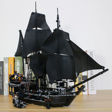 King 83006 Pirates of the Caribbean The Curse of the Black Pearl Jack Sparrow Building Blocks Bricks Gift For Children 4184 new arrival gudi 9115 pirates of the caribbean series black pearl jack sparrow figure building block toys