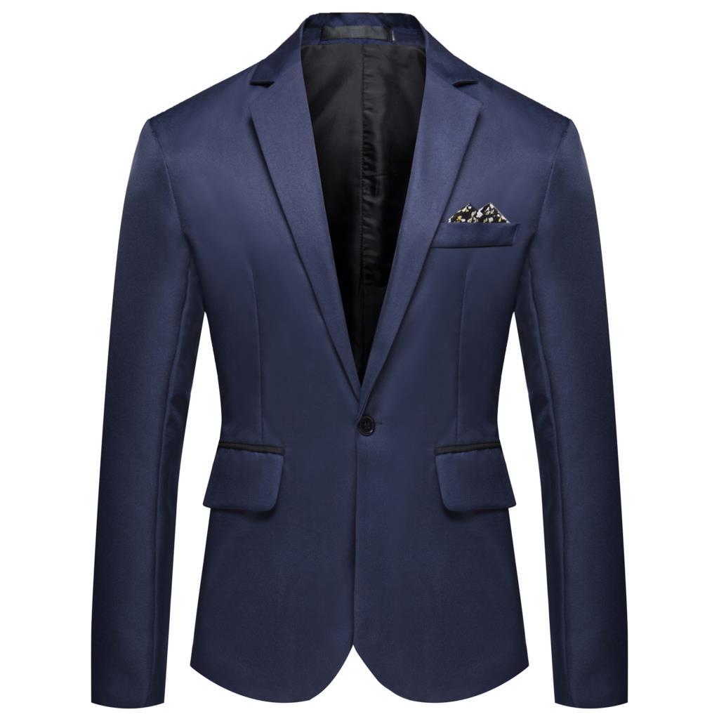 CYXZ Dropshipping Mens Fashion Brand Blazer British's Style Casual Slim Fit Suit Jacket Male Blazers Men Coat Jacket For Men
