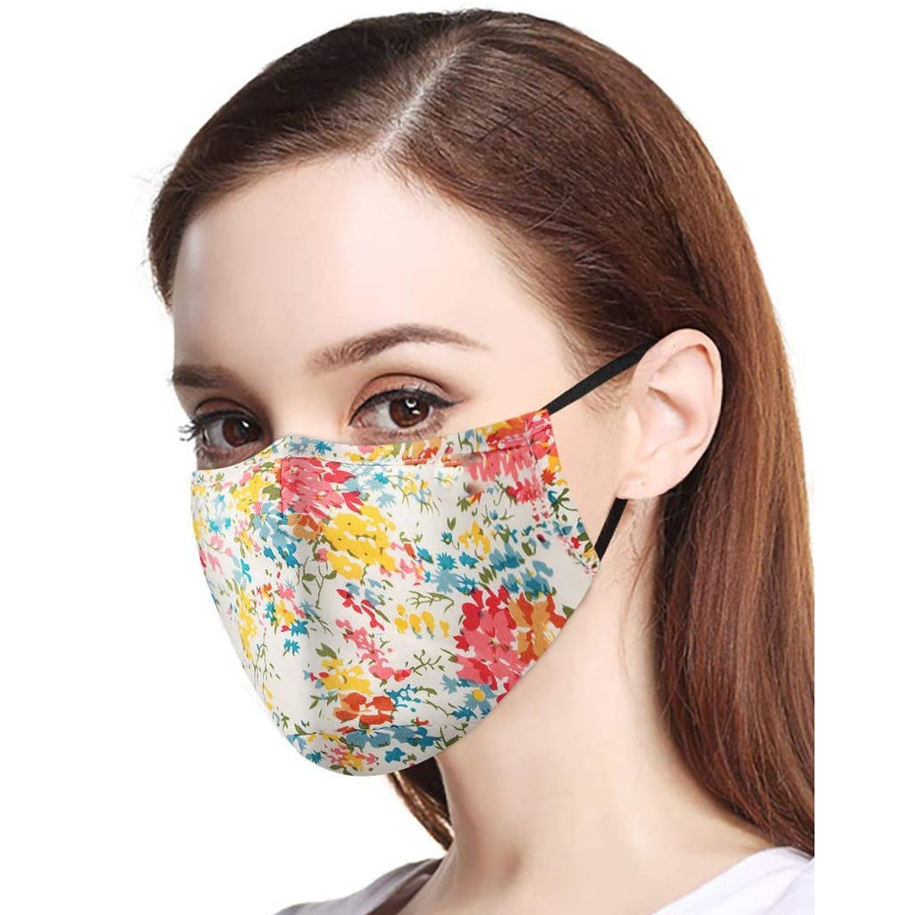 Wholesale Mouth Face Cover Cotton Dust Reusable And Washable Protection Cloth ShieldsCotton Cloth Reusable Face Mouth Shields
