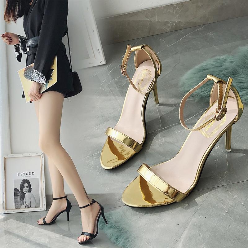 Roman Sandals Summer Office High Heels