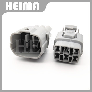 1 комплект, 6-контактный штекер Sumitomo MT090 для мужчин и женщин, Автомобильный датчик, водонепроницаемый разъем провода 6180-6771 6187-6561 для Suzuki Toyota Honda