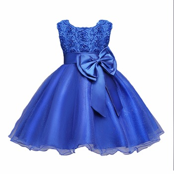 Christmas Baby Girls Dress For Evening Prom Party Costume Teenage Girls Kids Clothes Wedding Birthday Gown Little Girl Red Gown 4