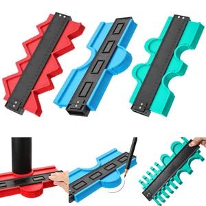 Image 1 - Plastic Copy Contour Gauges 12/14/25/50cm Contour Gauge Standard Wood Marking Tool Tiling Laminate Tiles Household Tools