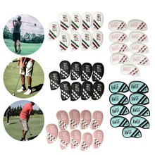 Cases Headcover-Set Protector Golf-Club 9pieces Long-Neck-Sleeves Waterproof