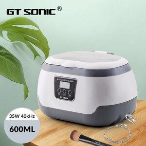 Image 1 - GTSONIC VGT 2818 Ultrasonic Cleaner for Necklace Earrings Bracelets Dentures Household Ultrasonic Baths