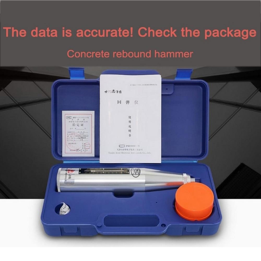 tester resiliometer concreto equipamento de testes de instrumentos não destrutivos