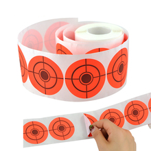 2020 New Arrival 250pcs/Rol Shooting Adhesive Targets Splatter Reactive Target Sticker for Bow Hunting Practice