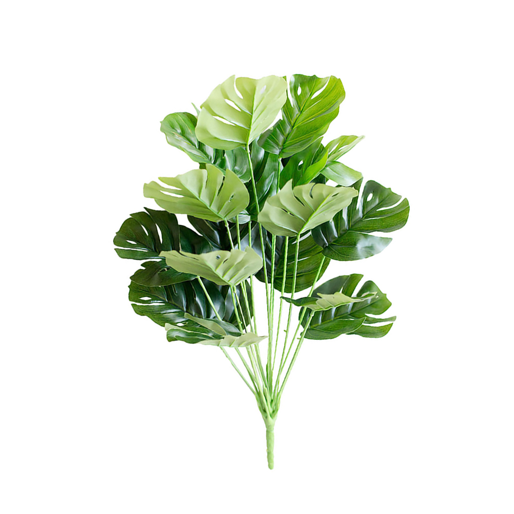 1pc Large Tropical Monstera Palm Tree Leaves Artificial Plants