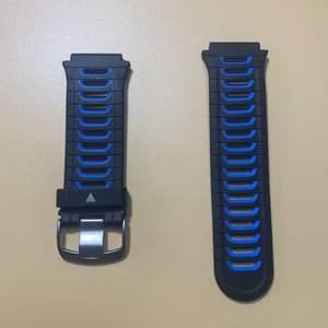 Сменный ремешок для часов Garmin, регулируемый ремешок для Forerunner 920XT, красный/серебристый