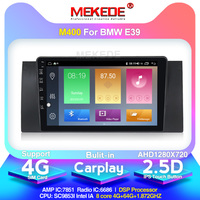 MEKEDE newest model 2 din Car Radio car dvd player for 5 Series BMW E39 X5 E53 Android 10.0 touch screen Bluetooth
