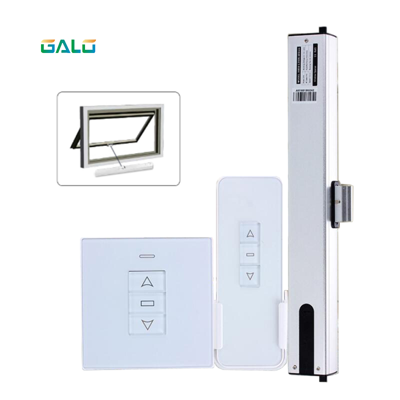 Chain Electric Window Opener 2/4 Wires Motor Tuya WiFi Curtain Blinds Switch & Remote Control Accessories Optional