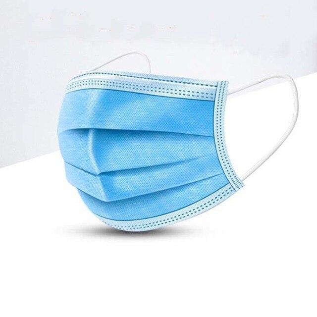 G95 N95 Medical Face Mask 60 Pcs Disposable Medical Masks Respirator 3 Layer Earloop Masks For Adult Surgical Medical Masks 1