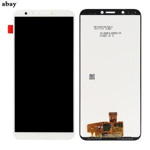 Image 3 - עבור Huawei Y7 2018 LCD תצוגת מגע Digitizer עבור Huawei Y7 פרו 2018 LCD עם מסגרת Y7 ראש 2018 מסך עצרת lcd 5.99