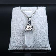 2021 модное эффектное ожерелье из нержавеющей стали с белыми