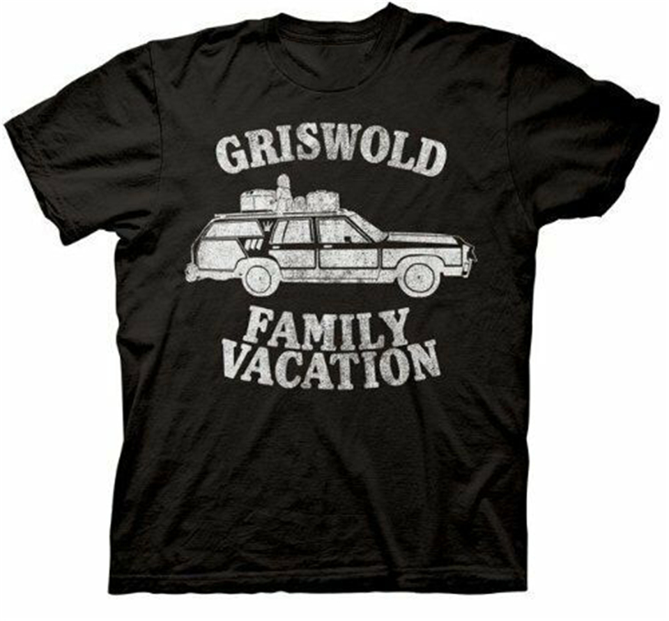 Adult Black Comedy Movie Christmas Vacation Griswold Family Vacation T-Shirt harajuku Men Tops Tee Shirt image