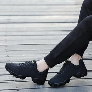 Image 5 - OZERSK 2021 erkekler rahat ayakkabılar marka erkek yaz ayakkabı Sneakers Flats örgü Lace Up loaferlar nefes yürüyüş ayakkabısı Size 39 ~ 44