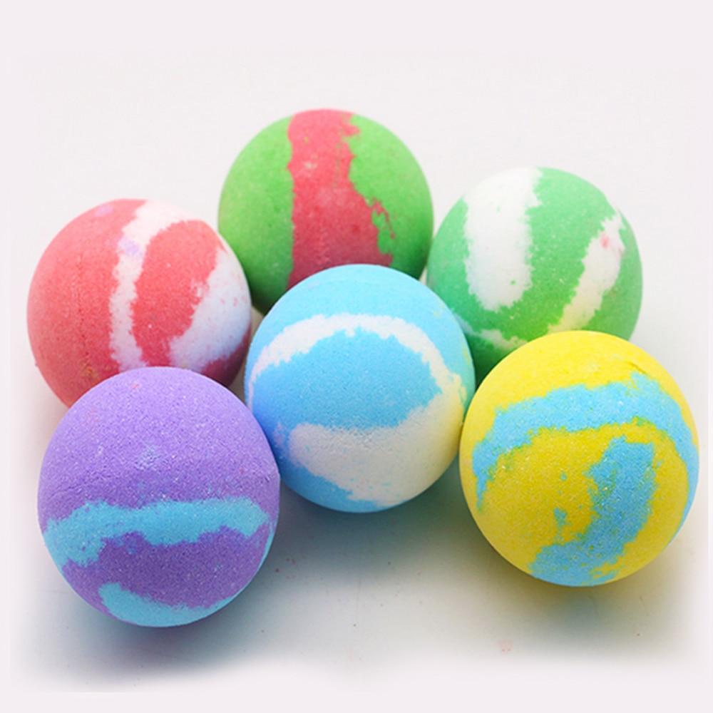 1pcs Deep Sea Bath Salt Body Essential Oil Bath Ball Natural Bubble Bath Bombs Ball For Moisturizes Dry Skin SPA Bath Bomb Salt