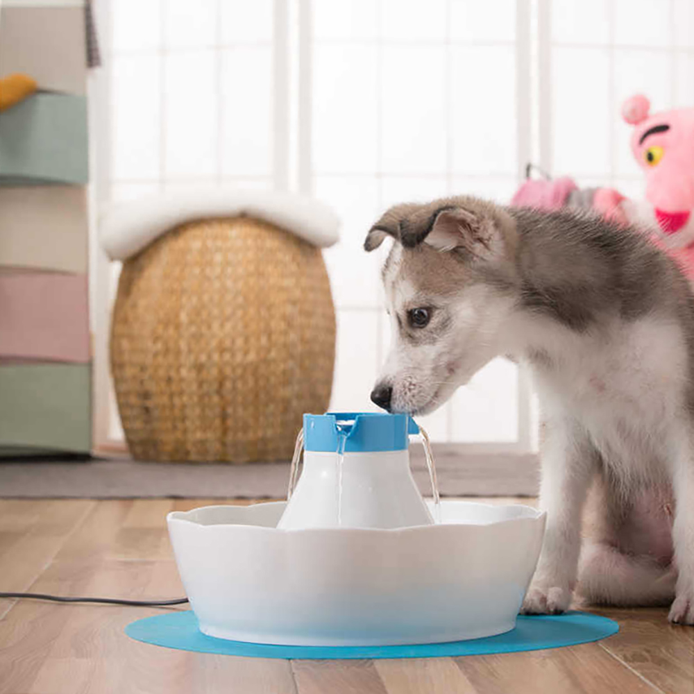 3L Pet Cat Dog Feeding Automatic Electric Water Fountain Pet Water Feeder Fountain Pet Water Dispenser for Cats Dogs US Plug