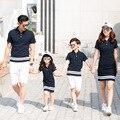 Семейная одежда, сочетающаяся с внешним видом семейная одежда, семейная сочетающаяся одежда, одежда для матери и дочери, одежда для Отца и С...