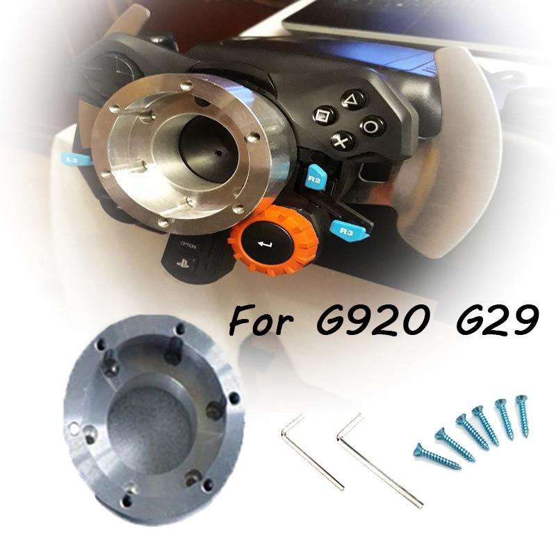 Для Logitech G29 G920 13/14 дюймов адаптер руля пластина 70 мм PCD гоночный автомобиль игра модификация