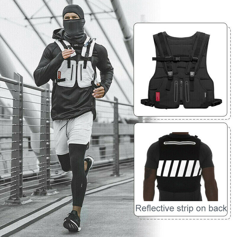 Hot Sale Multi-function Vest Outdoor Sports Fitness Men Protective Tops X85