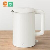 XIAOMI MIJIA-Hervidor eléctrico de acero inoxidable para té y café, tetera portátil ntelligent con Control de temperatura, 1800W, 1.5L