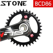 Stone 86 BCD Round Chainring for k-force SLK 30t 32t 34t 36t 38t 42 46 48T Tooth Plate Narrow Wide Bike Chainwheel 86bcd k force цена в Москве и Питере