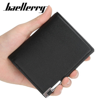 2020 new Fashion Men Wallets High Quality Small Wallet Business Zipper Short Male Card Holder Money