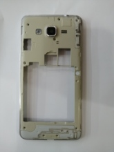 100 Pcs G530 Midden Plate Frame Behuizing Cover Case Midden Frame Bezel Voor Samsung Galaxy Grand Prime G531 Enkele Of dual Sim