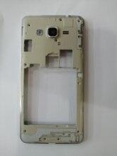 100 sztuk G530 ramka środkowej płyty obudowa pokrywy skrzynka wewnętrzna ramka do Samsung galaxy grand prime G531 pojedyncza lub podwójna karta SIM