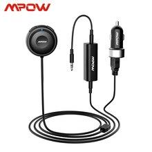 Mpow Kit de Audio MBR2 con Bluetooth para coche, receptor de Audio manos libres, Streambot, RECEPTOR ESTÉREO inalámbrico con cargador para coche, aislador de ruido