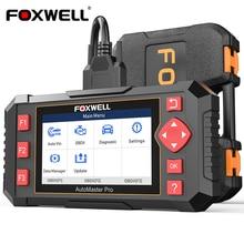 Foxwell nt604 elite obd2 ferramentas de diagnóstico automático transmissão do motor abs srs sistema obd 2 leitor código scanner diagnóstico automotivo