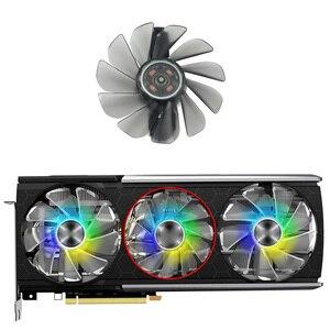 FD10015M12D FDC10H12D9-C RX5700 ARGB ventilateur refroidisseur pour saphir RX 5700 XT 8GB NITRO + édition spéciale carte vidéo ventilateur de refroidissement