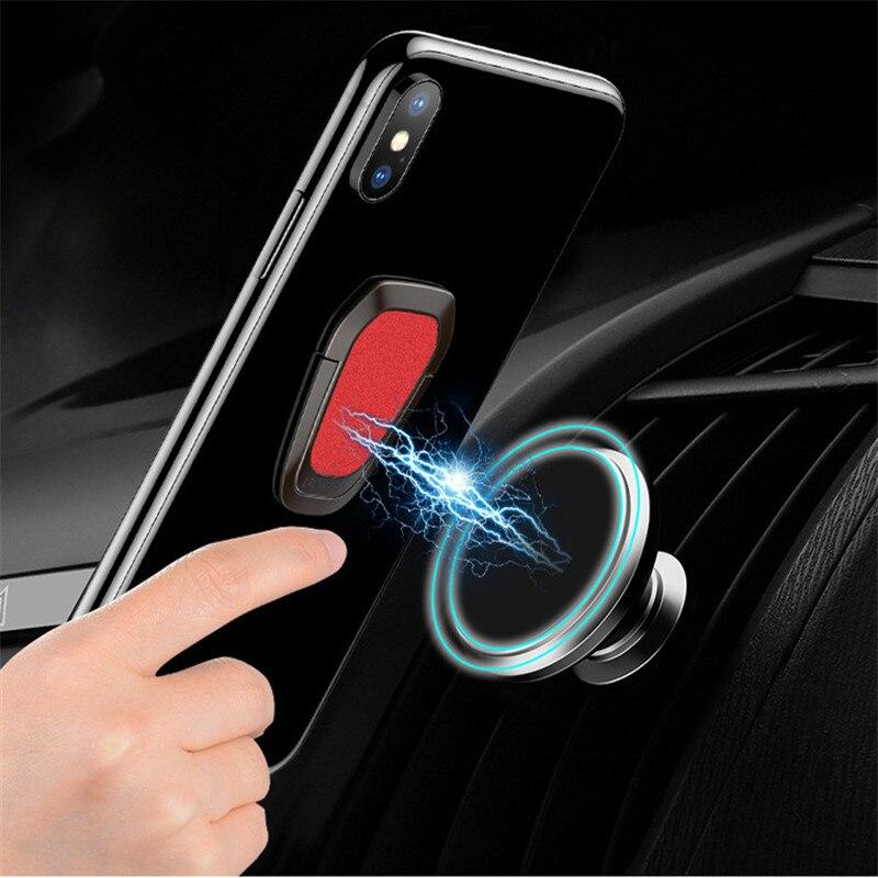 Anel de dedo Anel Mobile Phone holder para o telefone iPhone XXS Para Huawei Samsung celular Inteligente Rodada Anel titular Do Telefone Do Carro suporte do telefone