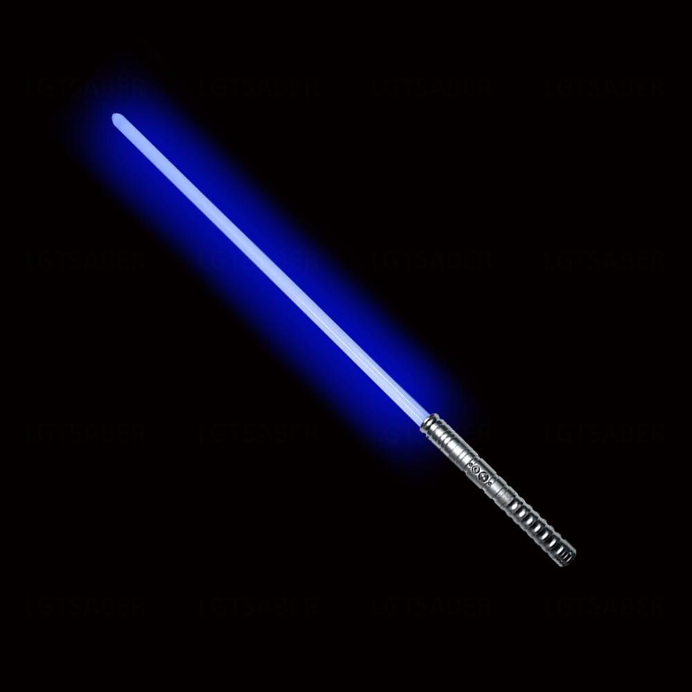 LGTOY Cosplay Lightsaber Luke Skywalker Light Saber Jedi Sith Laser Force FX Heavy Dueling Loud Sound High Light With FOC