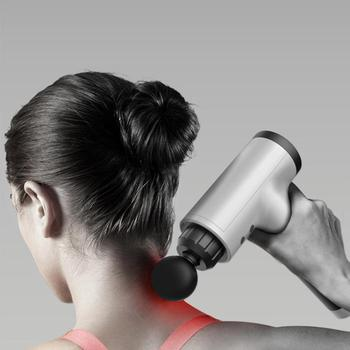 High frequency Massage gun muscle relax body relaxation Electric massager with portable bag for fitness Muscle massager