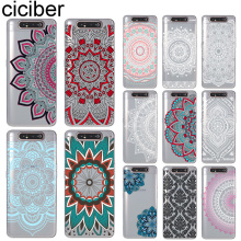 ciciber Phone Cases for Samsung Galaxy A50 A70 A80 A40 A30 A20 A60 A10 A20e Soft Silicone TPU Cover Pretty Mandala Fundas Coque