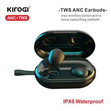 Bluetooth Wireless Earphones Active Noise Cancelling Cancellation Earbud ANC TWS