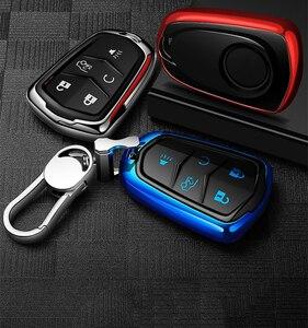 Image 5 - Hight Kwaliteit Pc + Tpu Key Case Cover Key Case Beschermende Shell Houder Voor Cadillac XT5/Atsl/Xts/XT4