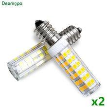 2 unids/lote E14 lámpara LED 3W 5W 7W 220V 240V LED Bombilla de maíz 33 51 75 SMD2835 haz de 360 de cerámica de alta calidad Mini luces de la lámpara