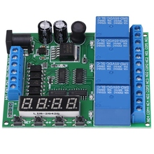 цена на DC 4-Channel Multifunction Delay Time Timer Relay Switch Module Assortment