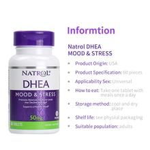 Natrol DHEA 50 mg estado de ánimo y estrés promueve los niveles de hormonas equilibradas que 60 tabletas