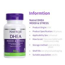 Natrol DHEA 50 мг, мышление и стресс, способствует сбалансированным уровням гормонов, что 60 таблеток