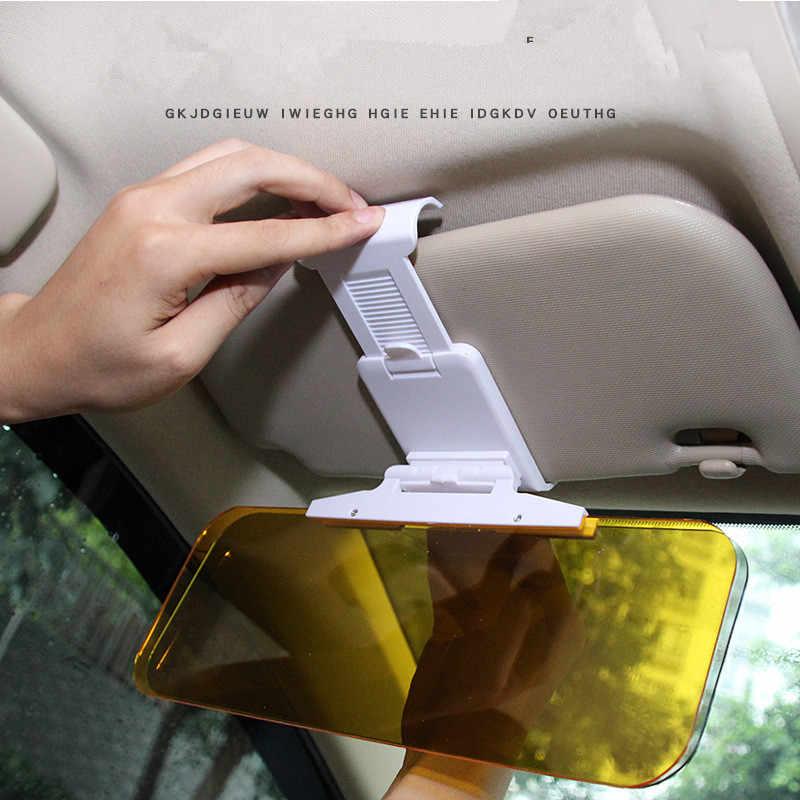 Car Sun Visor HD Anti Luce Del Sole Abbagliante Occhiali A Specchio di Guida UV Fold Vibrazione per Volkswagen vw Phaeton 4.2 EOS 3.2 v6
