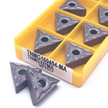 10PCS TNMG160404 MA VP15TF UE6020 US735 External Turning Tools Carbide insert Lathe cutter Tool Tokarnyy turning insert