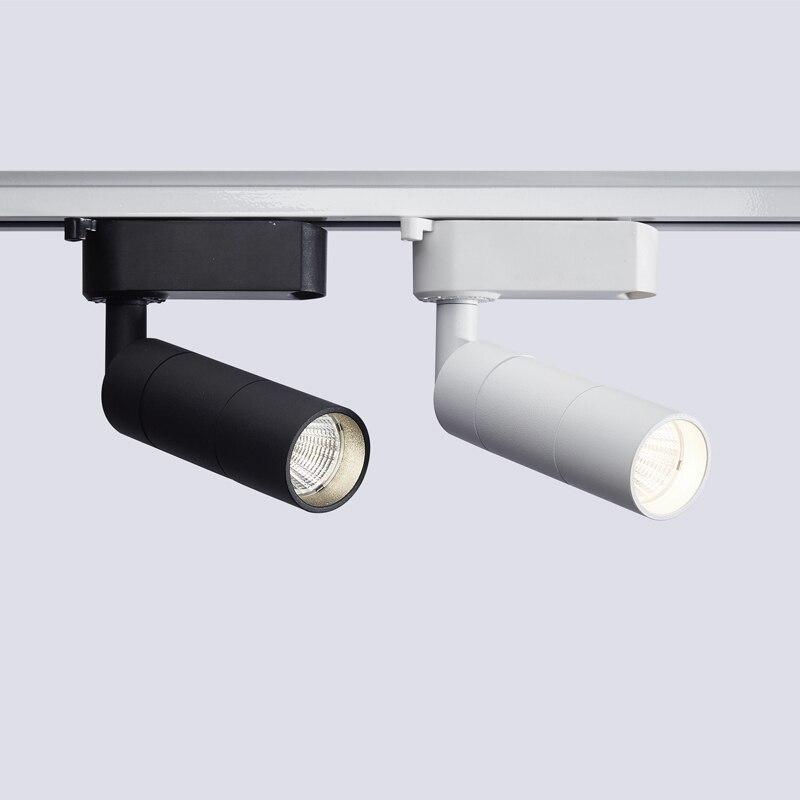 Алюминиевый прямой светодиодный Трек cob aisilan отражатель лампы рельсовые светильники Алюминиевые Т-образные светильники